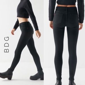 BDG Urban Outfitters Twig High Rise black 27
